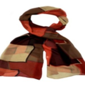 Abstract Multicolor Neck Scarf